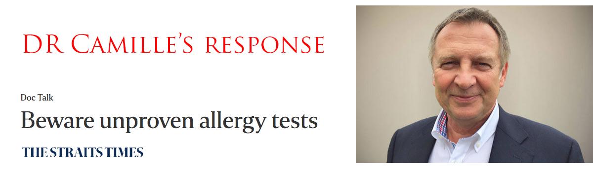 Beware Unproven Allergy Tests